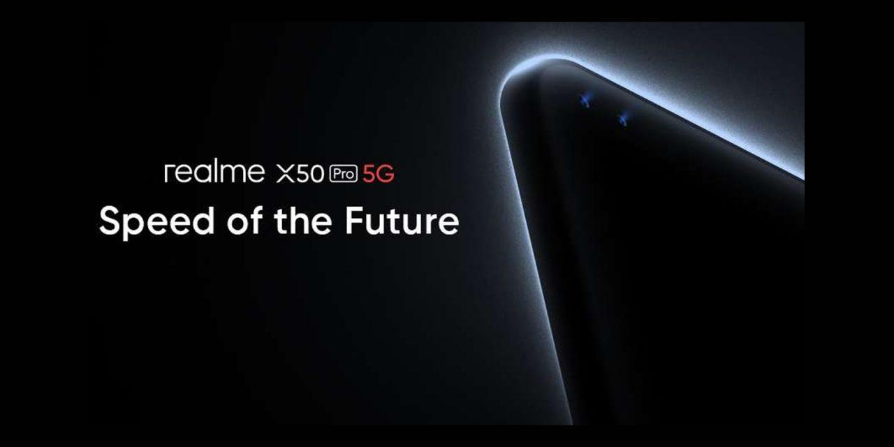 Un lancement en ligne pour le realme X50 Pro 5G
