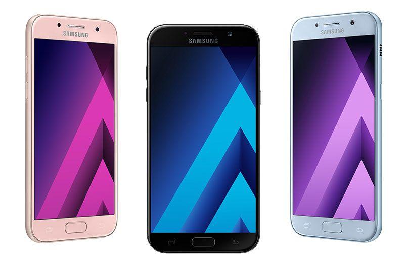 Lancement des nouveaux Samsung Galaxy A (2017)