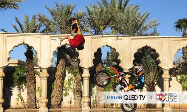 """Samsung & Red Bull lancent """"See the Unexpected"""""""
