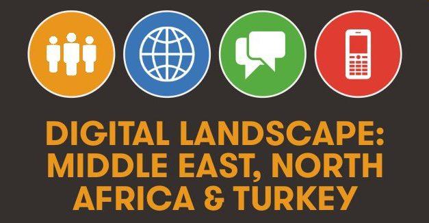 #Data : Panorama Social, Digital & Mobile pour la zone MENA et la Turquie