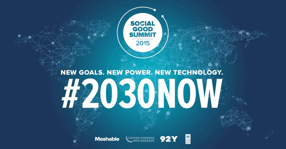 3ème édition du Social Good Summit au Maroc « Nouveaux Objectifs. Nouvelle Force. Nouvelle Technologie »