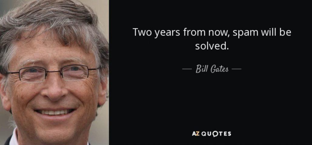 Bill Gates, l'internaute le plus spammé au monde
