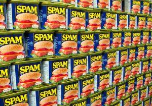 Spams pourriels messages indésirables