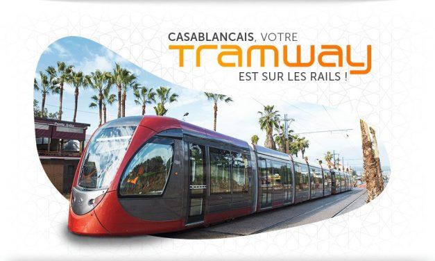 Wafasalaf sponsorise une station du tramway à Casablanca