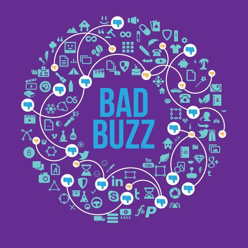 [ #Infographie ] Bad buzz : les 10 pièges à éviter