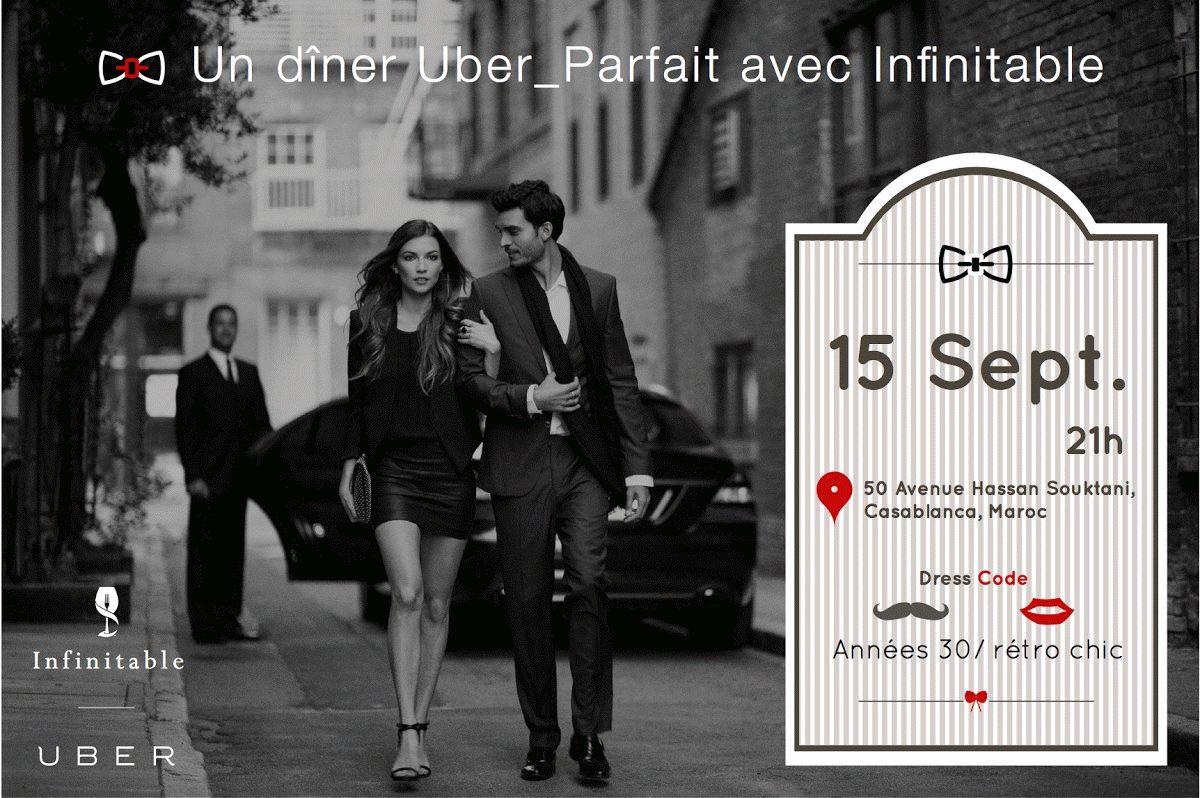 Coup de pub : Les dîners Uber_Parfaits