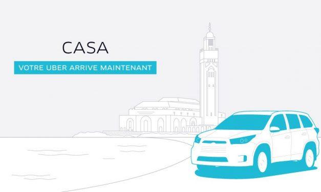 Le lancement d'Uber à Casablanca est confirmé