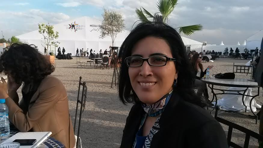 ‪#‎Audio‬ ‪#‎GES2014‬ : Interview de Fatim-Zahra Biaz, fondatrice du New Work Lab