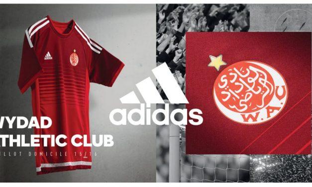 Adidas signe un nouveau maillot pour le Wydad