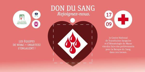 Collecte de sang : l'agence WBC se mobilise et a besoin de vous !