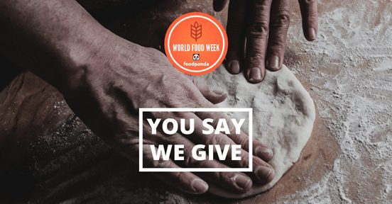 "Hellofood lance la campagne ""You Say. We Give"" contre la faim"