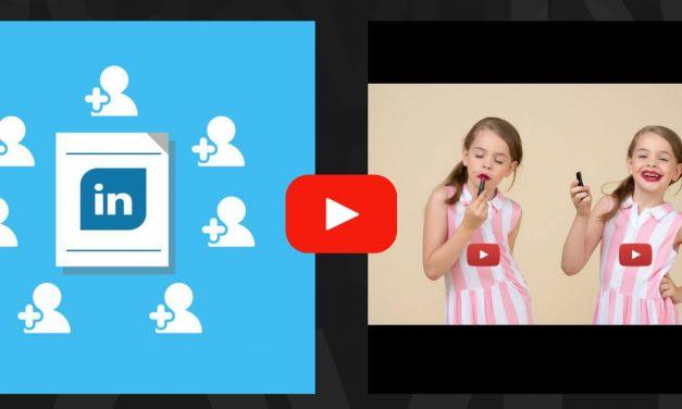 YouTube, LinkedIn et Lexus